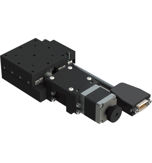 Motorized Single Axis Linear Positioning Stage Stage Size